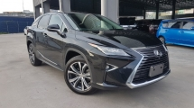 2016 LEXUS RX 2016 Lexus RX200T Version L Sun Roof 4 Camera Head Up Display Power Boot Full Leather 20'Rim Unregister for sale