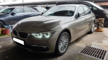 2017 BMW 3 SERIES 318I F30 1.5cc (A) REG APRIL 2017, ONE CAREFUL OWNER, FULL SERVICE RECORD, LOW MILEAGE DONE 27K KM, UNDER WARRANTY UNTIL APRIL 2022, 5 YEARS WARRANTY & UNLIMITED MILEAGE
