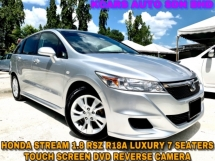 2013 HONDA STREAM RSZ R18A ENGINE LUXURY SPORT 7 SEATERS FREE COATING