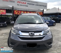 2017 HONDA BR-V 1.5E I-VTEC (A)/1 careful lady owner/100%accident fee /original paint /original mileage/3 years warranty until 2022