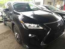 2016 LEXUS RX RX200 F SPORT 360 CAM 4WD PANORAMIC ROOF JAPAN UNREG