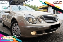2005 MERCEDES-BENZ E-CLASS E200 K E200K 1.8 A PERFECT CONDITION