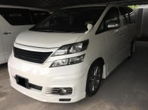 2011 TOYOTA VELLFIRE 2.4 Z PLATINUM Registered 2014
