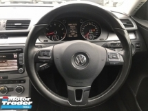 2013 VOLKSWAGEN PASSAT 1.8 TSI - FACELIFT - 7 SPEED - FULL SERVICE - WARRANTY - LIMITED COLOUR - ALL ORIGINAL - PERFECT CONDITION - FULL LEATHER - MEGA SALE NAK RAYA OFFER - DEAL SAMPAI JADI