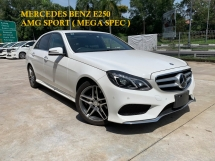 2014 MERCEDES-BENZ E-CLASS E250 AMG SPORT MEGA SPEC ** 360 CAMERA / 2 MEMORY ELECTRIC SEATS ** FREE 2 YEAR WARRANTY ** BEST OFFER NOW