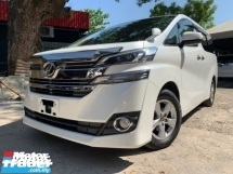 2015 TOYOTA VELLFIRE 2.5 POWER DOOR 8 SEATER NEW MODEL UNREG