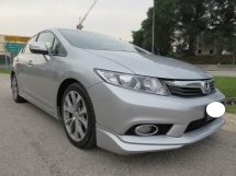 2014 HONDA CIVIC 2.0 (A) Navi Full Bodykit Full Leather Seat Push Start Paddle Shift CD DVD GPS Accident Free One Owner Tip Top Condition