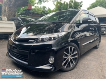 2015 TOYOTA ESTIMA 2.4 PREMIUM POWER BOOT BACK DIGITAL AIRCOND CONTROL FRONT BACK SEBSOR UNREG