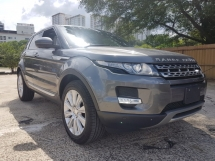 2015 LAND ROVER RANGE ROVER EVOQUE 2.0 PETROL (UNREG) 2015 HIGH SPEC