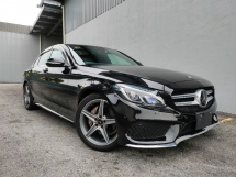 2015 MERCEDES-BENZ C-CLASS 2015 Mercedes C180 AMG Power Boot Head Up Display Pre Crash Blind Spot LKA Leather Unregister for sale