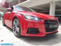 2015 AUDI TT 2.0 TFSI S-LINE QUATTRO (UNREG) 2015 MATRIC LED DAYLIGHT