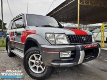 2001 TOYOTA PRADO 2.7 (A) GX PETROL GOOD CONDITION STOCK CLEARANCE PROMOTION PRICE.