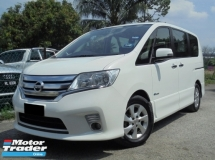 2013 NISSAN SERENA S-Hybrid High-Way Star C26 Keyless PushStart 2Powerdoor ReverseCamera LikeNEW