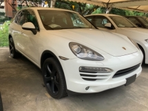 2012 PORSCHE CAYENNE 3.6 Japan spec electric seat back camera paddle shift cruise control unregistered