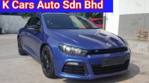 2011 VOLKSWAGEN SCIROCCO R 2.0 TSI DSG 6 Speed Go With VIP Number 882 73k Km Mileage Confirm Never Accident No Repair Need No Any Modified Worth Buy