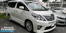2014 TOYOTA ALPHARD 2.4cc SC / FULL FULL SPEC / MERDEKA OFFER