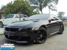 2006 BMW 6 SERIES  630Ci 3.0 Coupe E63 M-Sport Sunroof ReverseCamera SUPERB LikeNEW Reg.2011