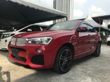 2015 BMW X4 2.0 M SPORT UNREG