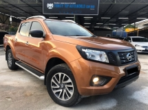 2016 NISSAN NAVARA NP300 2.5 VL FULL SPEC - FULL SERVICE  - LEATHER SEAT - BED COVER - SPORT BAR - TOUCH SCREEN PLAYER - PERFECT CONDITION - MEGA PROMO