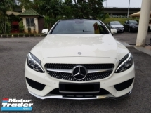 2016 MERCEDES-BENZ C-CLASS C300 COUPE AMG Line 2.0 20K Mileage Only