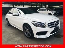 2015 MERCEDES-BENZ C-CLASS C180 AMG - GOOD CONDITION/JAPAN SPEC UNREG