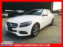 2015 MERCEDES-BENZ C-CLASS C200 AVANTGARDE - UNREG - GOOD CONDITION FROM JAPAN