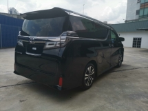 2018 TOYOTA VELLFIRE 2.5ZG WITH SUNROOF/3 LED WITH SEQUENTIAL BLINKER - UNREG