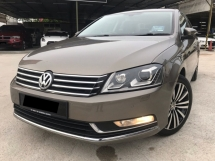 2013 VOLKSWAGEN PASSAT 1.8 TSI CBU F/SERVICE RECORD OFFER PRICE