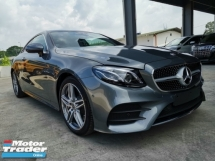 2018 MERCEDES-BENZ E-CLASS E300 Coupe AMG Panoramic Roof PB New Car Unreg Sale Offer