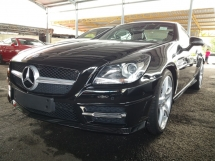 2015 MERCEDES-BENZ SLK SLK 200 2.0CC AMG PANORAMIC ROOF UNREG