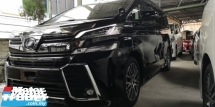 2016 TOYOTA VELLFIRE ZG 2.5 / SUNROOF / PRE-CRASH / TIPTOP CONDITION / ORIGINAL MILEAGE / READY STOCK NO NEED WAIT