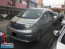2005 TOYOTA ALPHARD 2.4 AX 8 SEATER (A) BEST DEAL