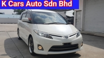 2013 TOYOTA ESTIMA 2.4 AERAS G Go With Nice Plate Number 6686 2 Power Door 2 Pilot Seat Super Condition Worth Buy