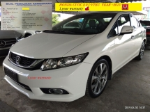 2015 HONDA CIVIC 2.0S I-VTEC 1year warranty can loan 9 year  😁  RM73,888~OTR