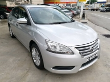 2014 NISSAN SYLPHY 1.8 E (A) - Low Mileage