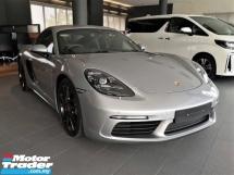 2018 PORSCHE 718 Cayman S 2.5 Porsche UK Approved Pre Owned GT Silver High Specs