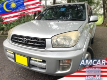 2002 TOYOTA RAV4 2.0 (A) SPORTY 1 OWNER IMPORTED BARU