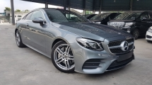 2018 MERCEDES-BENZ E-CLASS 2018 Mercedes E300 Coupe AMG W213 Panaromic Roof Burmester Sound System Power Boot Unregister for sale