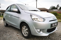 2012 MITSUBISHI MIRAGE 1.2 AUTO MIVEC / PUSH START BUTTON / KEYLESS / LEATHER SEAT / TIPTOP CONDITION / BLACKLIST CAN LOAN