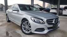 2014 MERCEDES-BENZ C-CLASS 2014 Mercedes C180 Avantgarde W205 Pre Crash Blind Spot LKA Unregister for sale