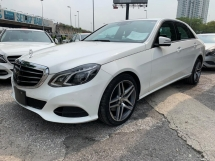 2015 MERCEDES-BENZ E-CLASS E250 SE 2.0 / ILIS HEADLAMP / TIPTOP CONDITION FROM JAPAN / READY STOCK NO NEED WAIT / 4 YEARS WARRT