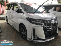 2018 TOYOTA ALPHARD 2.5 SC FACELIFTED FULLY LOADED