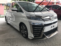 2018 TOYOTA VELLFIRE 2.5 ZG FACELIFTED FULLY LOADED