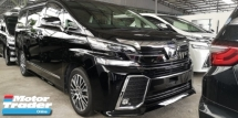 2016 TOYOTA VELLFIRE ZG 2.5 / SUNROOF / PRE-CRASH / ALPHINE / 4 YEARS WARRANTY UNLIMITED KM / READY STOCK NO NEED WAIT