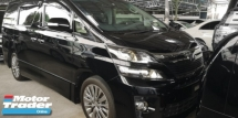 2014 TOYOTA VELLFIRE 2.4 GOLDEN EYES 2  4 YEARS WARRANTY UNLIMITED KM  READY STOCK NO NEED WAI