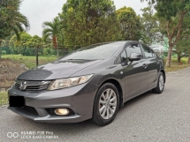 2013 HONDA CIVIC 1.8 S (A) - ONE OWNER TRUE YEAR 2013