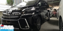 2016 TOYOTA VELLFIRE ZG 2.5 / SUNROOF / PRE-CRASH / TIPTOP CONDITION LOW MILEAGE 6A STOCK / 4 YEARS WARRANTY UNLIMITED KM