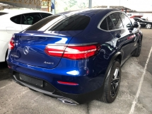 2017 MERCEDES-BENZ GLC GLC250d AMG COUPE 4MATIC 2.1 Twin-Turbocharged 9G-Tronic Intelligent-LED Smart Entry Push Start Button Mercedes-Benz Interface Touch Pad Multi Function Paddle Shift Steering Power Boot Bluetooth Connectivity Unreg