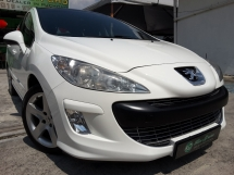 2010 PEUGEOT 308 1.6 TURBO PANORAMIC 1% DOWNPAYMENT