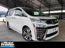 2018 TOYOTA VELLFIRE 2018 Toyota Vellfire 3.5 ZG 3 LED Sun Roof Pre Crash LTA Leather Seat Power Boot Unregister for sale